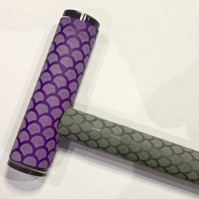 Mackintosh Dove Scales with T Handle Purple Scales
